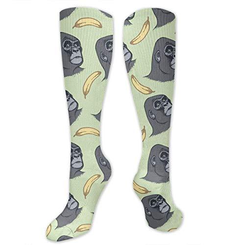 Snabeats Compression Socks, Funny Unisex Monkey Banana