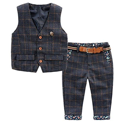 Baby Vintage Style and Wedding Tuxedo Waistcoat Outfit Suit