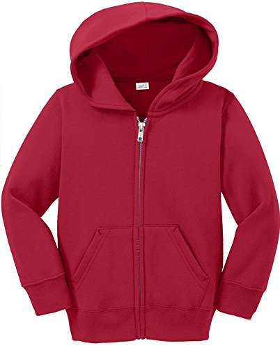 Toddler Full Zip Hoodies - Soft and Cozy Hooded Sweatshirts