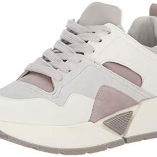 Dolce Vita Women's Walter Sneaker, White Suede
