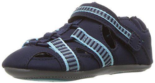 Robeez Boys' Sandal-Mini Shoez Crib Shoe Beach Break