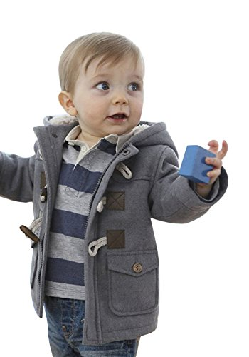 Ekaliy Winter Infant Toddler Boy Fleece Coats Jackets