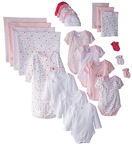 SpaSilk Essential Newborn Baby Layette Set
