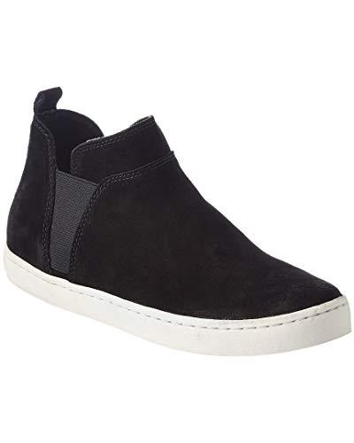 Dolce Vita Zamila Suede Sneaker, 6, Black