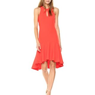 Trina Turk Women's Petal Dress, Ladybug
