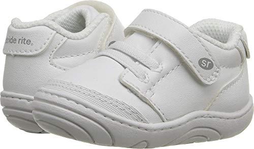 Stride Rite Unisex Taye (Infant/Toddler) White Synthetic