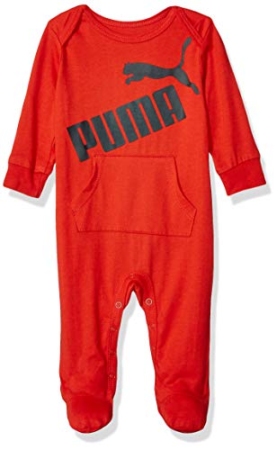 PUMA Baby Boys' Coverall, High Risk Red 3-6 Months