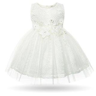 CIELARKO Baby Girl Dress Infant Flower Lace Wedding Party Dresses