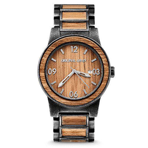 New Original Grain Wood Wrist Watch | Barrel Collection