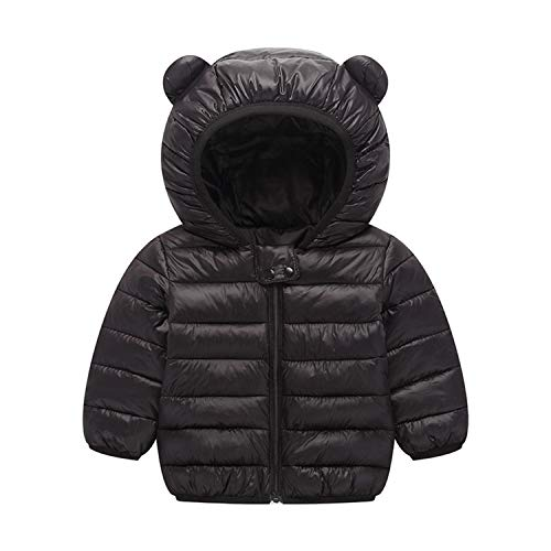 Baby Boys Girls Winter Coats Hoods Light Puffer Down Jacket