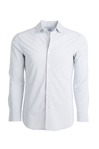 Mizzen + Main Leeward Trim Fit Mens Button Down Shirt