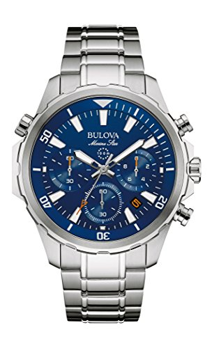 Bulova Men's Quartz Stainless Steel Dress Watch