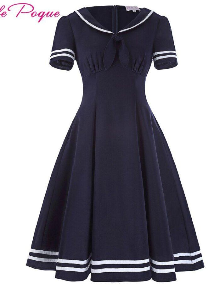 Belle Poque Women Summer Dress 17 Vintage Dress