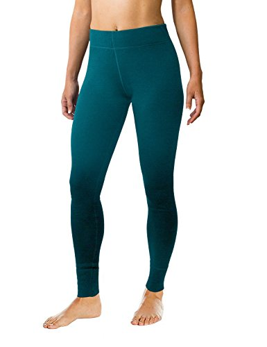 Woolx Women's Avery Midweight Merino Wool Base Layer Leggings