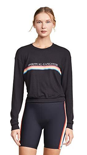Spiritual Gangster Women's Rainbow Savasana Sweatshirt