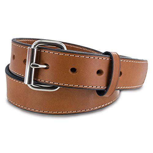 """Hanks Stitched Gunner Belts -1.5"""" - Best Value in A Concealed Carry Belt"""