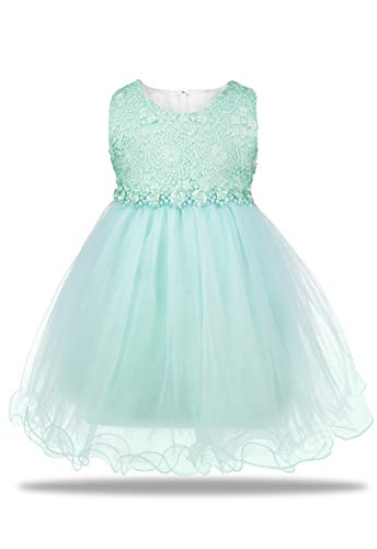 Aodaya Baby Girls Dress Sleeveless Newborn Toddler Flower Girl Dresses