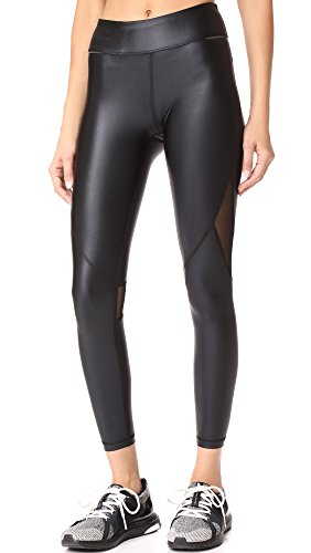 ALALA Women's Captain Ankle Leggings, Black/Liquid Black