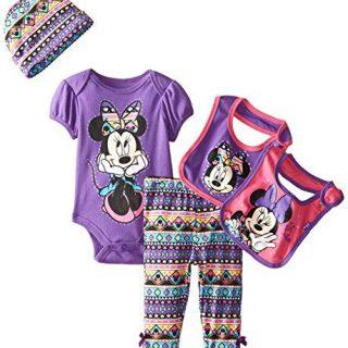 Disney Baby Girls' Minnie Mouse 5 Piece Set Aztec Theme
