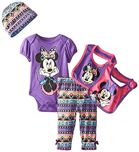 Disney Baby Girls' Minnie Mouse 5 Piece Set Aztec Theme