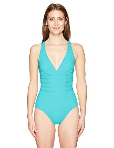 La Blanca Women's Island Goddess Multi Strap Cross Back One Piece Swimsuit