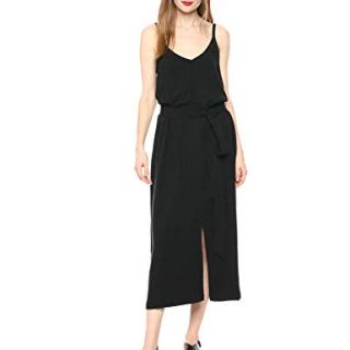 Rachel Pally Women's Linen Tallulah Dress, Black, S