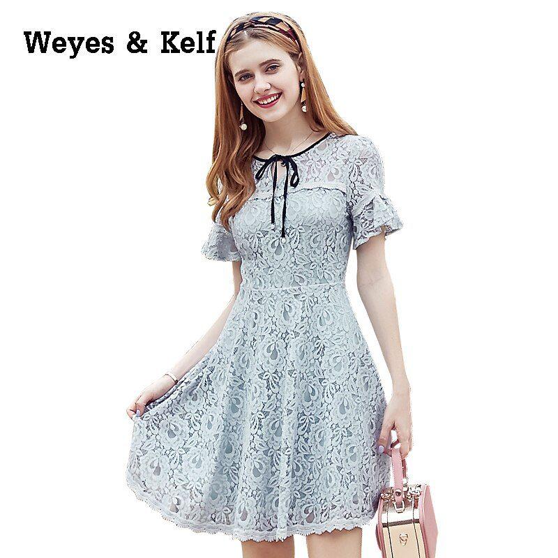 Weyes & Kelf Sweet Lace Summer Dress Women