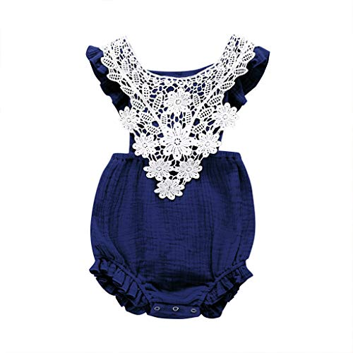 Ritatte Infant Newborn Baby Girl Romper Bodysuit