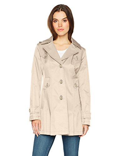 Via Spiga Women's Single-Breasted Belted Trench Coat