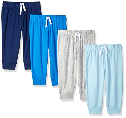 Amazon Essentials Baby Boys 4-Pack Pull-On Pant