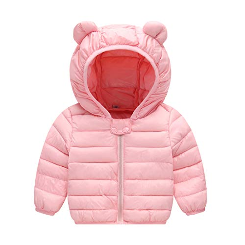 JIEEN Baby Boys Girls Lightweight Warm Down Cotton Coat