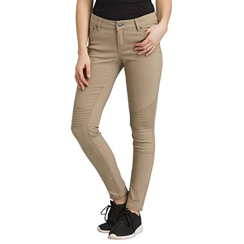 prAna Women's Brenna Pant - Short Inseam, Dark Khaki