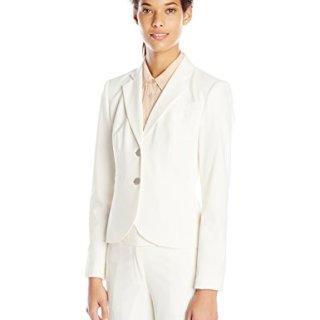 Calvin Klein Women's Two Button Lux Blazer