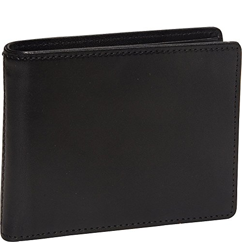 Bosca Men's Genuine Leather Bifold Executive ID Wallet