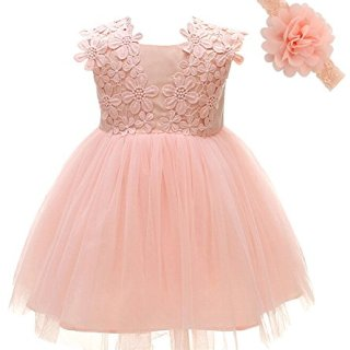 Greatop Baby Girls Dress Christening Baptism Party Formal Dress
