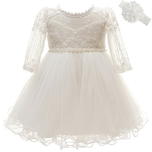Coozy Baby Girls Dresses Christening Baptism Gowns Wedding