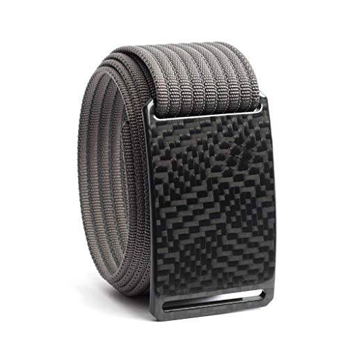 Carbon Fiber Belt GRIP6 (38in Labyrinth w/Grey Strap)