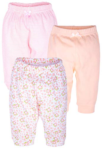 Maybe Baby Kids Infant Boys' & Girls' 3 Pack Cotton Pants Set