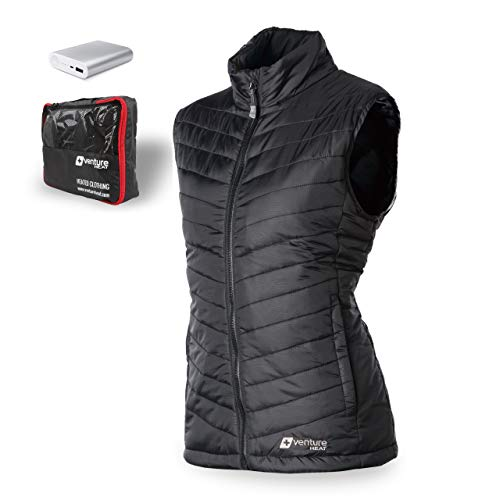Venture Heat Women's Heated Vest with Battery 12 Hour