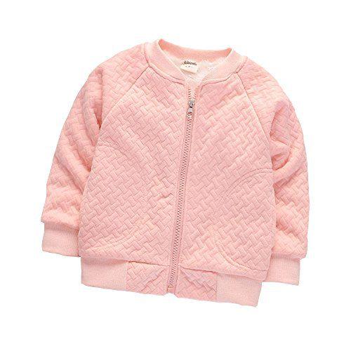 BibiCola Baby Boy Warm Coat Little Girl Fleece Jacket Winter