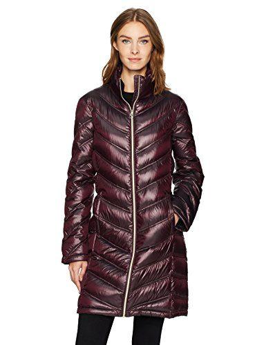 Calvin Klein Women's Essential Packable Walker Coat