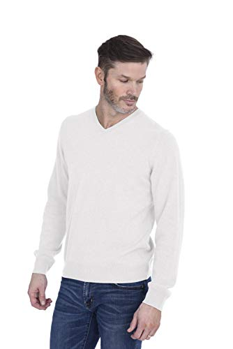 Cashmeren Men's 100% Pure Cashmere Long Sleeve Pullover