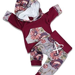 Baby Girl Clothes Long Sleeve Breathable Hoodie Sweatshirt Top