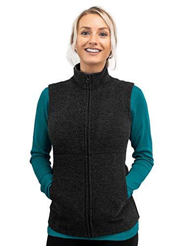 Woolx Women's Marcy Heavyweight Merino Wool Vest