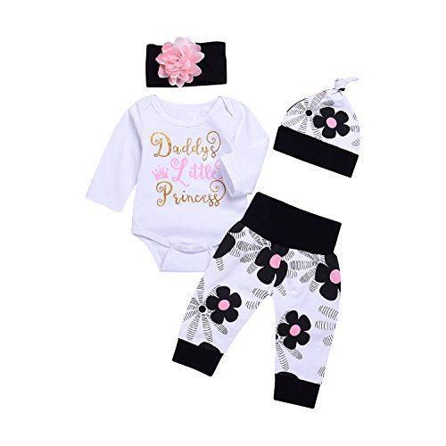 Infant Child Toddler Newborn Baby Girls Layette Set