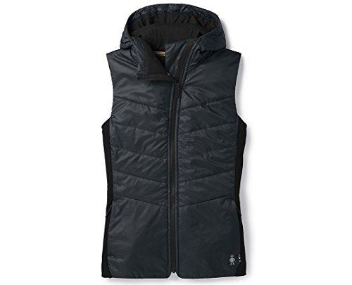 SmartWool Women's Smartloft Hoody Vest Black S