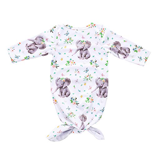 Infant Baby Boy Girl Animal Clothes Elephant Sleeper