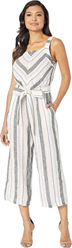 Two by Vince Camuto Women's Sleeveless Sorbet Stripe Belted