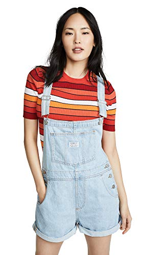 Levi's Women's Vintage Look Shortalls, Short and Sweet