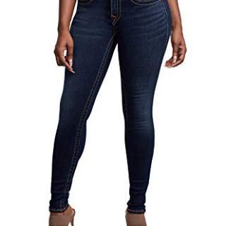 True Religion Women's Jennie Curvy Skinny Jean